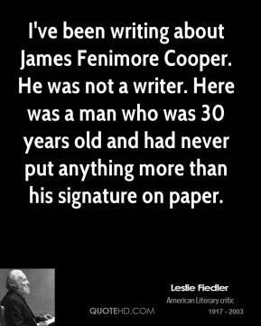 Cooper Quotes