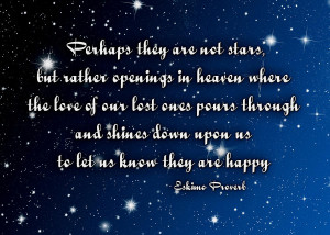 Perhabs they are not stars, stars, heaven, quotes, life