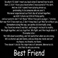 love my best friend More