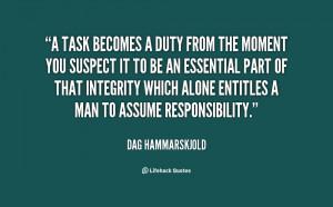 Quotes by Dag Hammarskjold