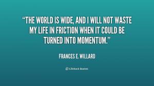 Frances Willard Quotes