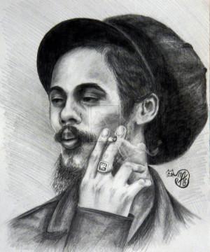 Damian Marley by AnastaciaPetrenko