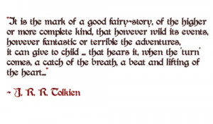 tolkien quote | Tumblr. This is certainly inspiring to writers!