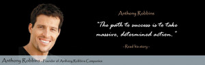 Top 75 Inspirational and Motivational Quotes by Anthony Robbins