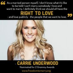 ... lgbt pride lgbt support lgbt equality lesbian quotes carrie underwood