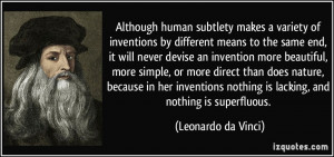 Although human subtlety makes a variety of inventions by different ...