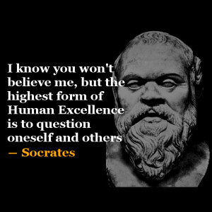 Socrates   Quote of the Day #3