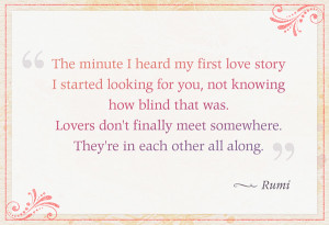Rumi Quotes On Love