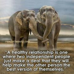 Love this quote & the elephants make it that much better. More