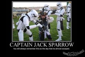 Get a laugh: Captain