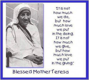 Related Pictures mother teresa inspirational picture quotes about ...