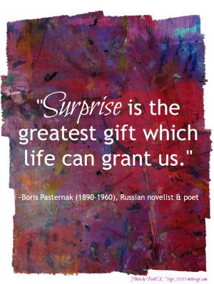 Unexpected Surprises Quotes
