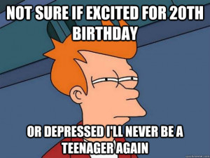 20th birthday joke