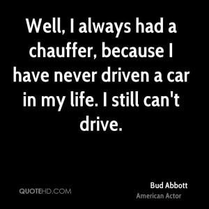 Bud Abbott Quotes
