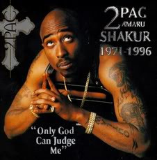 2PAC SHAKUR 19711996 Only God Can Judge Me Image