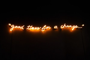 neon light quotes