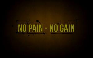 No Pain No Gain Quotes HD Wallpaper #6784