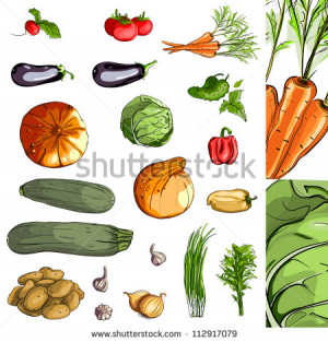 Fresh Vegetables Green...