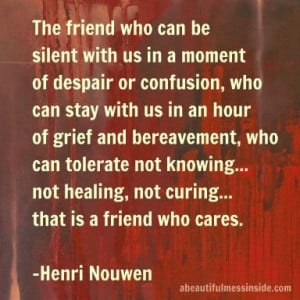 Inspirational quotes: Henri Nouwen