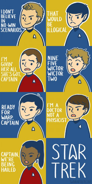 Star Trek Quotes. Awesome.