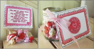 candy sayings, Valentine candy sayings