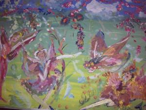 Good Morning Fairies Painting
