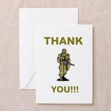 Thank You - gold Greeting Cards (Pk of 20) for