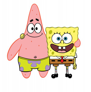Spongebob Squarepants Spongebob & Patrick
