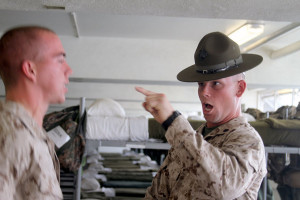 ... Me Now? 29 Pics Of Marine Drill Instructors Yelling At New Recruits