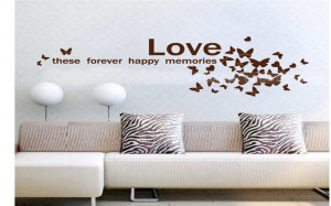 Love these happy memories Family Art Wall Quotes Wall Stickers Wall ...