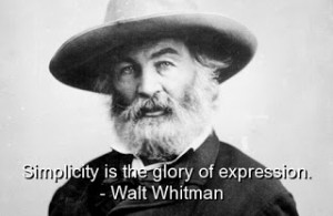 ... Inspirational Walt Whitman Quotes, Sayings and Poem Verses[/caption