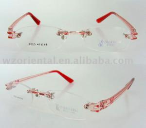 ... rimless, optical frames, girl glasses frame ,spectacle frames, RO2162