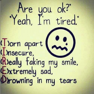 cute, im just tired, love, love tired, pretty, quote, quotes