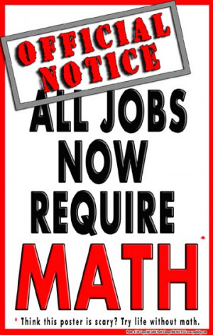 b47) Poster #138- Motivational Math Poster for Students