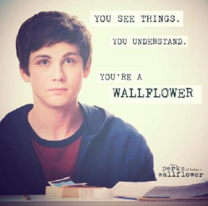 Quote from the coming of age movie The Perks of Being a Wallflower ...