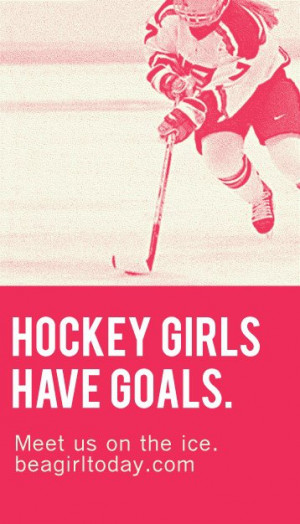 Girl Hockey Quotes