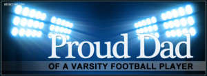 Proud Varsity Dad Facebook Cover