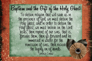 Lds Baptism Quotes Pictures Picture