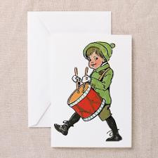 Little Drummer Boy Greeting Card for