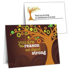 Employee Appreciation Cards
