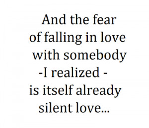 Quotes About Falling Love...