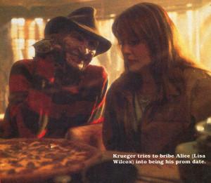 Freddy Krueger Nightmare Elm Street Lisa Wilcox Horror