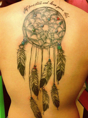 43 Dreamcatcher tattoo quote tattoo