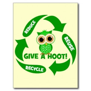 funny_reduce_reuse_recycle_post_card-ref6623139e374e2f8bdcbcba93714144 ...