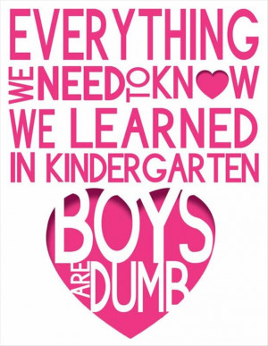 Funny Quotes About Boys