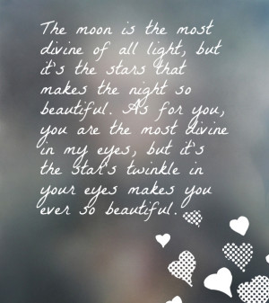 sharing this quote for her say something about her eyes