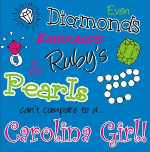 Carolina Girl Sayings
