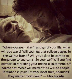value your relationships