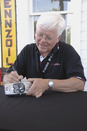Dave McLellan, Corvette's CHief Engineer from 1975-92, will be on hand ...