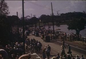 Royal tour, 1954